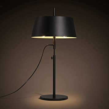 IRVING Lámpara de mesa de noche, lámpara de mesita de noche ...