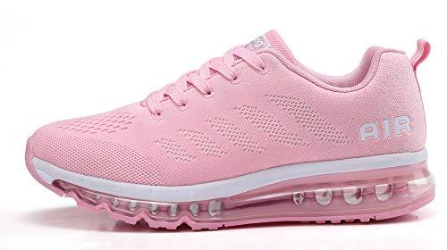 Fitness Corsa all'Aperto Casual Scarpe Air Rosa Sportive da Ginnastica Interior Running Basse Sneakers Donna Uomo O0XwBR0