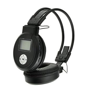 Shopinnov – Auriculares inalámbricos con lector MP3 y radio FM