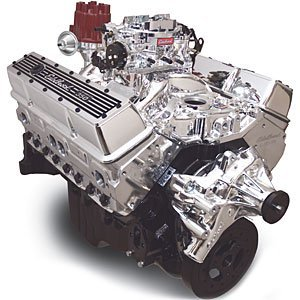 Edelbrock Crate Engine Performer - Edelbrock 46424 Performer 363 Hi-Torq Crate Engine 9.0:1 Compression 353HP/405Torque PerformerEPSVortecManifold/750CFM PerformerSeriesCarb Elec.Choke w/Long Water Pump PN[8811] EnduraShine Performer 363 Hi-Torq Crate Engine
