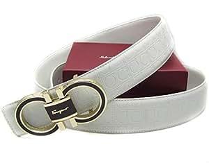 Ferragamo Adjustable Belt White, Safety Belts & Harnesses ...