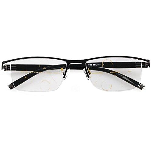 Meijunter Gradually Varifocal Reading Glasses See Far/Near Lens Computer - Vari Eyeglasses