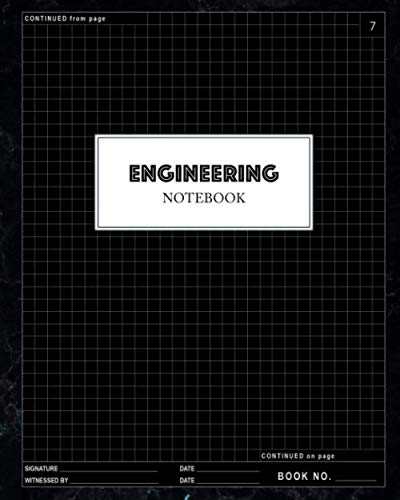 """Engineering Notebook: Engineer Lab Quadrille Graph Paper - .25"""" Grid Format Quad Ruled for Laboratory Work: 100 Pages Professional Layout 8"""" x 10"""" (Notebooks for Students)"""