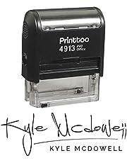 طابع شخصي أسود ذاتي مخصص حسب الطلب من Printtoo - 58 × 22 مم