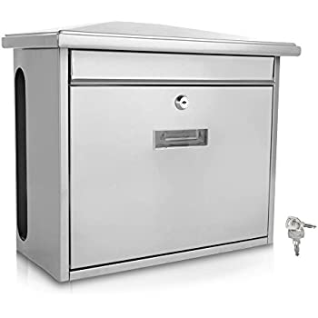 Compare to similar items  sc 1 st  Amazon.com & Amazon.com: Serenelife Modern Wall Mount Lockable Mailbox ... Aboutintivar.Com