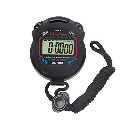 BESPORTBLE Digitale Stopwatch Timer Draagbare Wedstrijd Sport Stopwatches Training Timer Intervaltraining Timer…