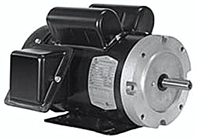 North American Electric (F56CH2S2C) General Purpose, Totally Enclosed Fan Cooled 2HP, 1PH, 3480RPM, Electric Motor.