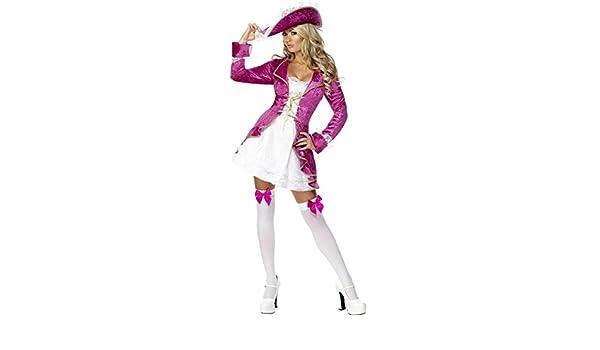 Generique - Disfraz de Pirata para Mujer Barroco M: Amazon.es ...