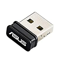 Asus USB-N10 Nano N150 Wi-Fi USB Stick (802.11 b/g/n, USB 2.0, Windows Mac Linux & Raspberry Pi 2 kompatibel)