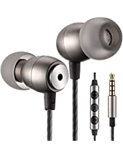 Betron GLD100 Earphones Headphones High Definition, Noise Isolating, Bass Driven Sound for iPhone, iPod, iPad, Samsung, Tablets and Mp3 Players (Black With Remote)