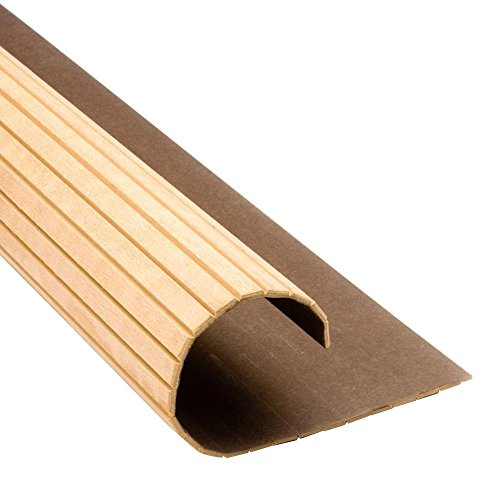 Pole-Wrap 4 ft. Paintable MDF Basement Column Cover (Price Varies by Size) ()