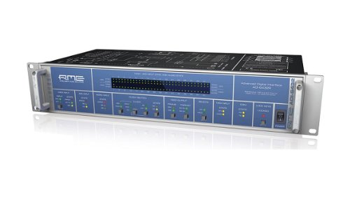 RME | High-Performance MADI to AES/AES to MADI Format Converter ADI-6432R with Connectiom to Two Different Electrical Circuits. : 64-Channel 24-Bit/192kHz -