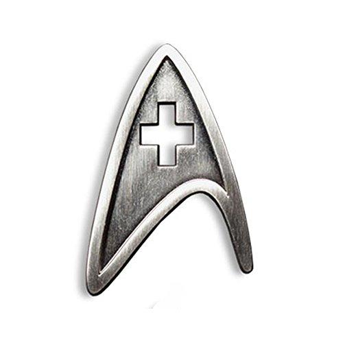 Star Trek Cosplay Brooch Starfleet Division Metal Badge Replica … (Medical)