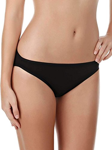 Felina Panty Cut High - Felina Sublime Hi Cut Brief Panty Full Coverage | Anti-Pilling