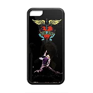 TYH - Bon Jovi Heart And Dagger Logo Cell Phone Case for Iphone 4/4s ending phone case