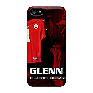 For Iphone 5/5s Fashion Design Kansas City Chiefs Case-Okh4811lzeo