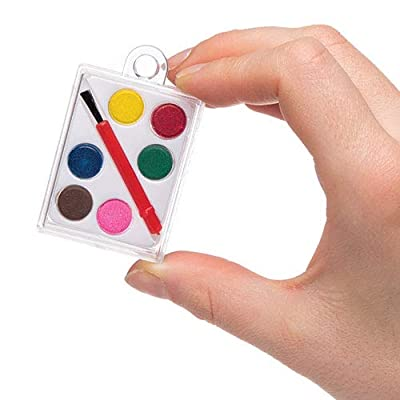 Baker Ross Mini Watercolor Paint Palette Set — Creative Art Supplies for Kids' Crafts, Projects and Decorations, Perfect Party, Loot or Prize Bag Filler (Pack of 5): Toys & Games