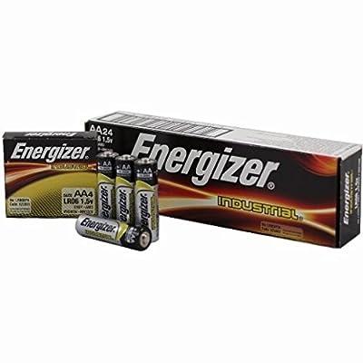 TopOne Energizer Industrial AA Alkaline Batteries 24 Pack EVR EN91 24pk