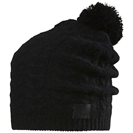 Amazon.com  Chaos Women s Cashmere Beanie with Cable Pom bf0180ae6a
