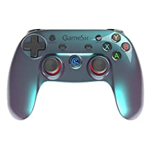 GameSir G3v 2.4Ghz Wireless Bluetooth Gamepad Controller for Android TV BOX Smartphone Tablet PC (Blue)
