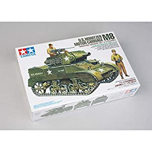 Tamiya America, Inc 1/35 US Howitzer Motor Carriage M8 with 3 Figures, TAM35312 2
