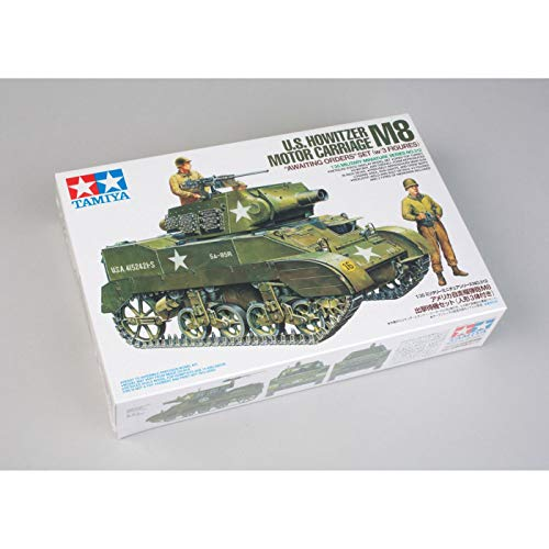 (Tamiya America, Inc 1/35 US Howitzer Motor Carriage M8 with 3 Figures, TAM35312)