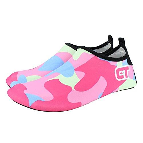 Camp Quick Women Water Pool Shoes Cc SENFI Sport Water Beach Dry Men Lightweight pink Kids 4Rnq5z