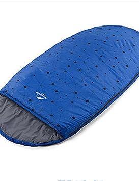 Saco de dormir bolsa de semi-rectangular único -5? hueca Algodón 1500 G