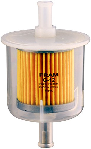 FRAM G12 in-Line Fuel Filter - 74 Dodge W200 Pickup