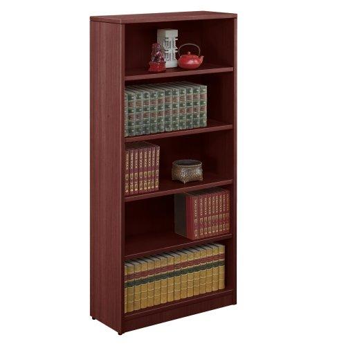 (Contemporary Five Shelf Bookcase 71