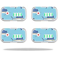 Skin For DJI Phantom 3 Drone Battery (4 pack) – Billfish Stripes | MightySkins Protective, Durable, and Unique Vinyl Decal wrap cover | Easy To Apply, Remove, and Change Styles | Made in the USA