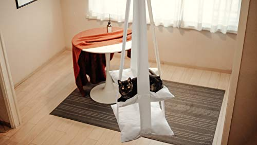 Cat Bed Cat Hammock Modern Cat Swing Multi Level Hanging Soft Bed Toy for Kittens