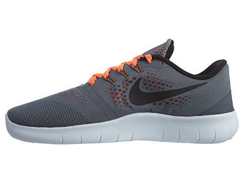 Nike Kids Free Rn (big) Cool Grigio / Nero-arancio Totale