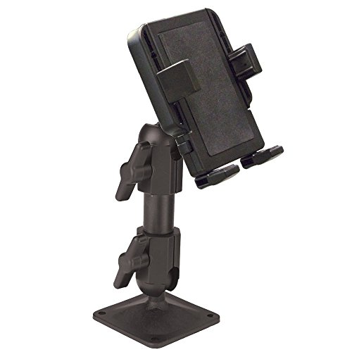 Panavise PortaGrip Phone Holder with 717-06 Pedestal Mount
