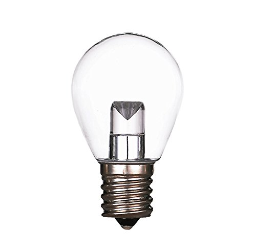 Halco Lighting Technologies S11CL1C/827/INT/LED 80525 LED S11 1.2W Clear 2700K DIMMABLE E17 PROLED ()