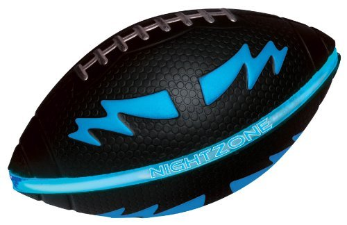 Toysmith Nightzone Football (Blue) by Toysmith