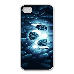 Printed Cover Protector iPhone 4,4S Cell Phone Case Bftbn The Lost Empire Unique Design Cases