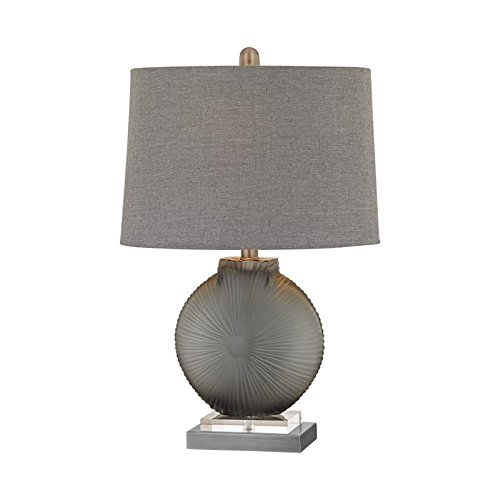 Artistic Dimond Lighting Simone Table Lamp, (Contemporary Pewter Table Lamp)