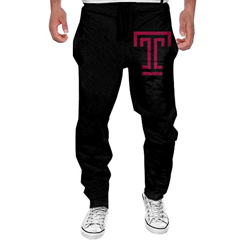 MULY Mens Temple University T Logo Sweatpants Long Jersey Pants L (Temple Football Jersey compare prices)