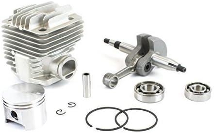Everest Parts Supplies Engine Rebuild Kit for Stihl TS400 Includes Crankshaft Cylinder Piston Rod with Gasket Kit