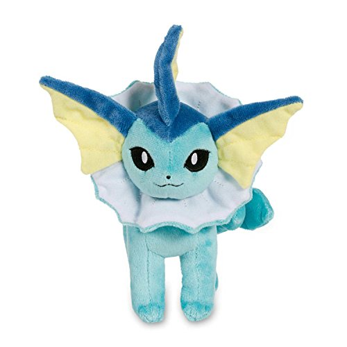 - Pokemon Center Original (8.5-Inch) Poke Plush Doll Vaporeon (Showers)