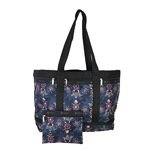 LeSportsac Classic Large Travel Tote Weekender, Evening Blues ()
