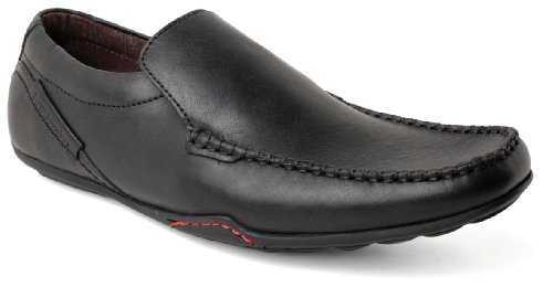 Base London - Mocasines para hombre negro - negro