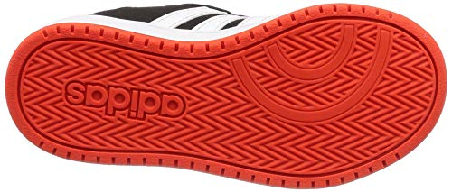 Niños 0 Adidas 000 2 negro Zapatos Negro De Baloncesto Unisex Hoops EpBqwp0