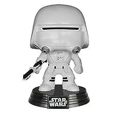 Funko-6223 Trooper Figura de Vinilo First Order Snowtrooper, Color Negro, Blanco, Estándar (6223)
