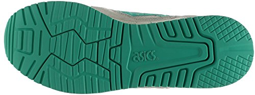 ASICS Gel-Lyte III Men Round Toe Leather Blue Running Shoe Grey cheap price outlet sale ufcrr