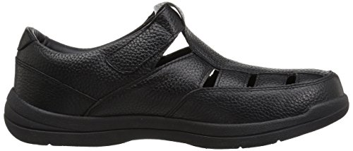 Black Men's Bayport Fisherman Sandal Propet fqa07