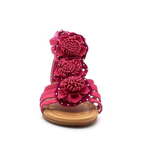London Footwear - Sandalias romanas chica Rosa