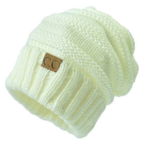 5afbdda14e7 Gome-z 13 colors Unisex Winter Knitted Wool Cap Women Men Folds Casual CC  labeling Beanies Hat Solid Color Hip-Hop Beanie Hat Gorros Milk White - Buy  Online ...