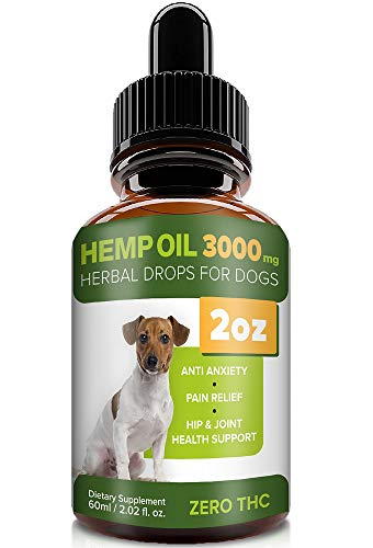 Pawesome Hemp Oil Dogs Cats product image